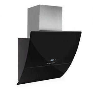 Klarstein-RGL60BL-Campana-Canalizado-700-mh-65-Db-Montado-en-pared-LED-Negro-0